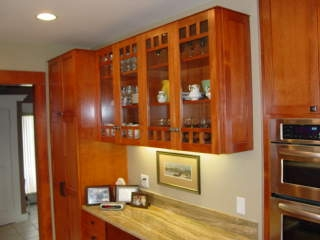 Douglas Fir Kitchen Cabinets