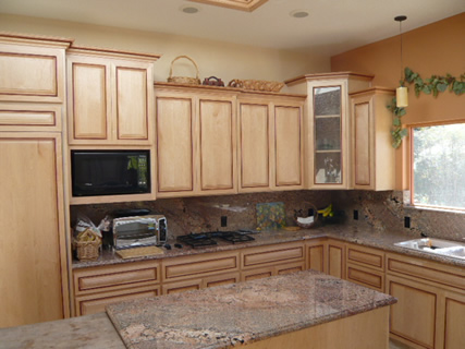 Natural Maple Kitchen